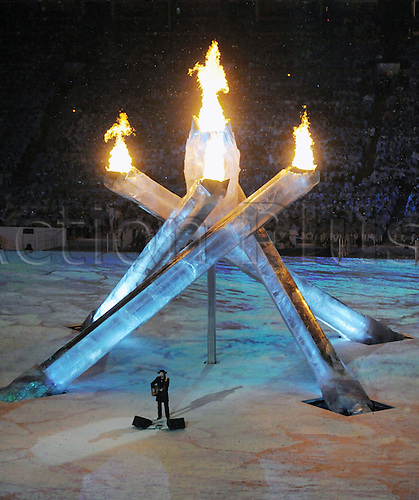 28th February 2010, Vancouver Winter Olympics. Final day and closing ceremony. Photo: Imago/Actionplus. Editorial Use UK.