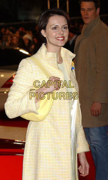 BEVERLEY TURNER.Starsky & Hutch premiere in Odeon Leicester Square.11 March 2004.half length, half-length.www.capitalpictures.com.sales@capitalpictures.com.©Capital Pictures.