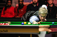 Neil Robertson in action during the Dafabet Masters Quarter Final 2 match between Judd Trump and Neil Robertson at Alexandra Palace, London, England on 15 January 2016. Photo by Liam Smith / PRiME Media Images.