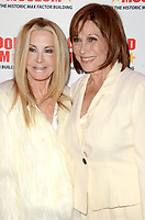 """LOS ANGELES - JAN 18:  Joan Van Ark, Michele Lee at the 40th Anniversary of """"Knots Landing"""" Exhibit at the Hollywood Museum on January 18, 2020 in Los Angeles, CA"""