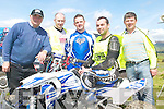 BIKING: Organisers of the practice run for the Munster Quad & Bike Championships in Milltown on Monday, l-r: Ken O'Neill, Louis Leahy, Robert McCormack, Raymond O'Neill and John Moloney.   Copyright Kerry's Eye 2008