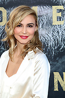 "LOS ANGELES - MAY 8:  Samaire Armstrong at the ""King Arthur Legend of the Sword"" World Premiere on the TCL Chinese Theater IMAX on May 8, 2017 in Los Angeles, CA"