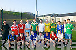 ASTROTURF: The first group of players to play on the new state of art Astroturf surface in Cahersiveen on Friday last. Front l-r: Oliver Berry, Christopher Adair, Alan Cournane, Diarmuid Nolan, Niall Fitzgerald, Colin Walsh, Aidan Walsh and William Sanderson. Back l-r: Mike Murphy, Sean Cournane, Kenneth Casey, Conor OShea, Joe Moore, Brendan Casey, Dermot OSullivan, Brendan OSullivan, Anthony Hutchison, Eoghan Morris and Rory Hanley.