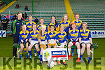 Kilmurry NS in the  Teacher Schools Final at the Allianz Cumann na mBunscol Girls Final at Austin Stacks Park on Tuesday Pictured Bernadette O'Mahony, Aoife Walsh, Ava FitzMaurice, Jane Lawlor, Hollyanne Smith, Aoife Kerins, Orla O'Donoghue, Siobhan O'Donoghue, Aisling Kearney, Lisa Flynn, Emma Enright, Grainne O'Connor, Clodagh Enright
