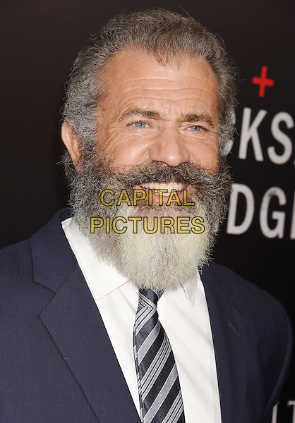 BEVERLY HILLS, CA - OCTOBER 24: Director Mel Gibson attends the screening of Summit Entertainment's 'Hacksaw Ridge' at Samuel Goldwyn Theater on October 24, 2016 in Beverly Hills, California.<br /> CAP/ROT/TM<br /> &copy;TM/ROT/Capital Pictures