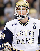 Ben Ryan (Notre Dame - 19) - The University of Notre Dame Fighting Irish defeated the University of New Hampshire Wildcats 2-1 in the NCAA Northeast Regional Final on Sunday, March 27, 2011, at Verizon Wireless Arena in Manchester, New Hampshire.