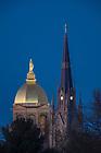 Apr. 28, 2015; Golden Dome and Basilica. (Photo by Matt Cashore/University of Notre Dame)