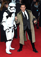 "Bruno Tollioni<br /> arriving for the ""Star Wars: The Last Jedi"" film premiere at the Royal Albert Hall, London.<br /> <br /> <br /> ©Ash Knotek  D3363  12/12/2017"