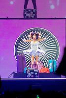 Violetta aka Martina Stoessel, , in concert ' Violetta Live 2015 ' in Brussels - Belgium