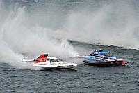 "Ken Brodie II, GP-50 ""Intensity"" and Mathew Daoust, GP-9 (Grand Prix Hydroplane(s)"