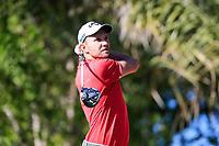Max Kieffer (GER) on the 2nd during the 1st round of the Abu Dhabi HSBC Championship, Abu Dhabi Golf Club, Abu Dhabi,  United Arab Emirates. 16/01/2020<br /> Picture: Fran Caffrey | Golffile<br /> <br /> <br /> All photo usage must carry mandatory copyright credit (© Golffile | Fran Caffrey)