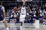 HIGH POINT, NC - JANUARY 06: High Point's Brandonn Kamga. The High Point University of Panthers hosted the Charleston Southern University Buccaneers on January 6, 2018 at Millis Athletic Convocation Center in High Point, NC in a Division I men's college basketball game. HPU won the game 80-59.