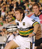 Twickenham. GREAT BRITAIN, Saints, Chris WYLES, during the, Guinness Premiership game between, NEC Harlequins and Northamption Saints, on Sat., 04/11/2006, played at the Twickenham Stoop, England. Photo, Peter Spurrier/Intersport-images].....