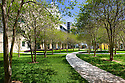 FIU College of Nursing Walkway