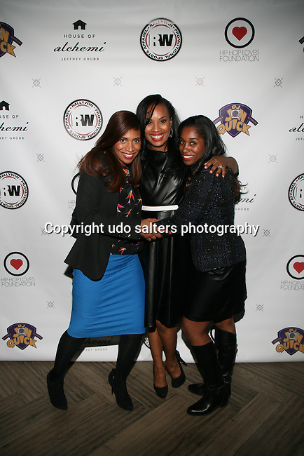 Guests and Dana Whitfield At  DJ Jon Quick's 5th Annual Beauty and the Beat: Heroines of Excellence Awards Honoring AMBRE ANDERSON, DR. MEENA SINGH,<br />