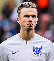 Norwich City's forward James Maddison (10) for England U21's during the International Euro U21 Qualification match between England U21 and Ukraine U21 at Bramall Lane, Sheffield, England on 27 March 2018. Photo by Stephen Buckley / PRiME Media Images.