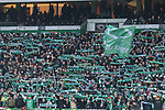 13.01.2018, Weser Stadion, Bremen, GER, 1.FBL, Werder Bremen vs TSG 1899 Hoffenheim, im Bild<br /> <br /> Fans Feature im Stadion<br /> Ostkurve Fahnen Bahner Stimmung Emotionen<br /> <br /> Foto &copy; nordphoto / Kokenge