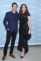 NEW YORK, NY - MAY 14: Eric McCormack, Debra Messing at the 2018 NBCUniversal Upfront at Rockefeller Center in New York City on May 14, 2018.  <br /> CAP/MPI/RW<br /> &copy;RW/MPI/Capital Pictures