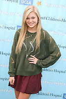 SANTA MONICA, CA - OCTOBER 21:  Olivia Holt at the Mattel Party On The Pier Benefiting Mattel Children's Hospital UCLA - Red Carpet at Pacific Park at Santa Monica Pier on October 21, 2012 in Santa Monica, California. © mpi20/MediaPunch Inc. /NortePhoto