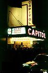 Capitol Theatre Marque