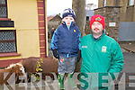 Pictured at the Fair Day in Athea on Saturday were L-R : Stephen Scanlon and his father Pat Scanlon from Glin.