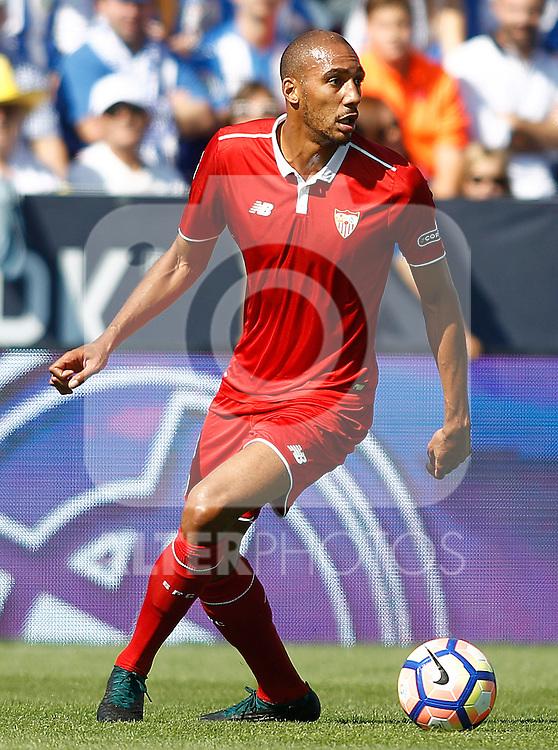 Sevilla FC's Steven N'Zonzi during La Liga match. October 15,2016. (ALTERPHOTOS/Acero)