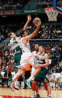 21/02/2014<br /> EUROLEAGUE BASKETBALL<br /> REAL MADRID - ZALGIRIS<br /> 5 RUDY FERNANDEZ Forward (REAL MADRID)<br /> 7 POCIUS Forward (ZALGIRIS)