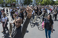 Black Lives Matter Demonstration In Berlin