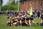 02/05/2016.  Sleaford,  England. Stamford College Old Boys RFC v Bourne RFC in the Lincolnshire Intermediate Cup Final held at Sleaford Rugby Club, Lincolnshire.   Jonathan Clarke/JPC Images