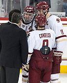 (Ayers, McInnis) Ryan Fitzgerald (BC - 19), Chris Calnan (BC - 11), Austin Cangelosi (BC - 9) - The Boston College Eagles defeated the University of Vermont Catamounts 7-4 on Saturday, March 11, 2017, at Kelley Rink to sweep their Hockey East quarterfinal series.The Boston College Eagles defeated the University of Vermont Catamounts 7-4 on Saturday, March 11, 2017, at Kelley Rink to sweep their Hockey East quarterfinal series.