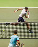 Rotterdam, The Netherlands, 17 Februari 2019, ABNAMRO World Tennis Tournament, Ahoy, Final, Doubles, Jeremy Chardy (FRA),<br /> Photo: www.tennisimages.com/Henk Koster