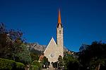 St. Laurentius Kirche, Schaan, Liechtenstein.