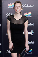Kira Miro attends 40 Principales awards photocall  2012 at Palacio de los Deportes in Madrid, Spain. January 24, 2013. (ALTERPHOTOS/Caro Marin) /NortePhoto