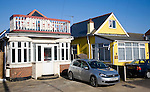 Private housing in Jaywick, Essex, England