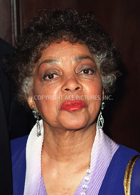 Ruby Dee at the Directors Guild of America Honors 2002 at the Waldorf-Astoria in New York City. June 9, 2002. Please byline: Alecsey Boldeskul/NY Photo Press.   ..*PAY-PER-USE*      ....NY Photo Press:  ..phone (646) 267-6913;   ..e-mail: info@nyphotopress.com