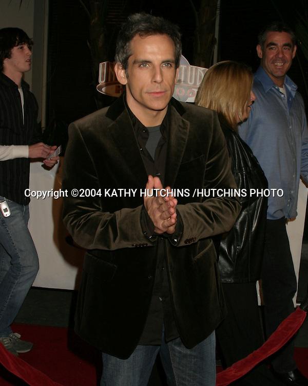"©2004 KATHY HUTCHINS /HUTCHINS PHOTO.""MEET THE FOCKERS"" PREMIERE.UNIVERSAL CITY, CA.DECEMBER 16, 2004..BEN STILLER"