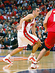 University of Wisconsin guard (22) Mike Kelley during the Maryland game at the Bradley Center in Milwaukee, WI, on 11/29/00. (Photo by David Stluka)
