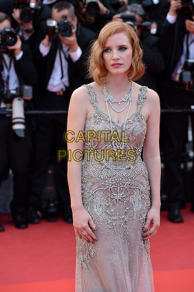 Jessica Chastain at the &acute;Money Monster` screening during The 69th Annual Cannes Film Festival on May 12, 2016 in Cannes, France.<br /> CAP/LAF<br /> &copy;Lafitte/Capital Pictures