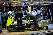 June 14 and 15th 2017,  Le Mans, France; Le man 24 hour race qualification sessions at the Circuit de la Sarthe, Le Mans, France;  #93 DEMPSEY PROTON RACING (DEU) PORSCHE 911 RSR (991) LMGTE AM PATRICK LONG (USA) ABDULAZIZ TURKI AL FAISAL (SAU) MICHAEL HEDLUND (USA)