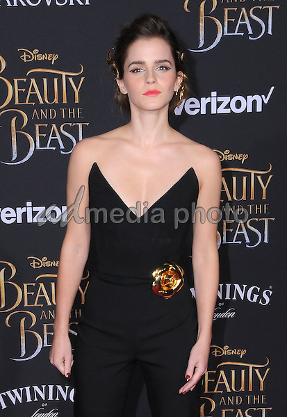 "02 March 2017 - Hollywood, California - Emma Watson. Los Angeles premiere of Disney's ""Beauty and the Beast' held at El Capitan Theatre. Photo Credit: Birdie Thompson/AdMedia"