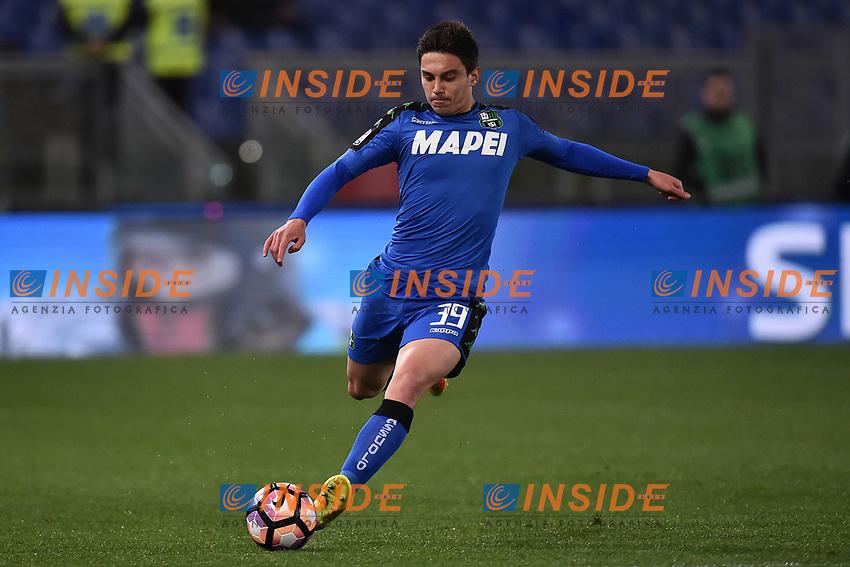 Cristian Dell'Orco Sassuolo <br /> Roma 19-03-2017 Stadio Olimpico Football Calcio Serie A 2016/2017 AS Roma - Sassuolo Foto Andrea Staccioli / Insidefoto