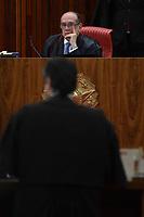 BRASÍLIA, DF, 04.04.2017 – JULGAMENTO-CHAPA DILMA/TEMER – O presidente do Tribunal Superior Eleitoral, ministro Gilmar Mendes durante o julgamento da Chapa Dilma/Temer no TSE em Brasília na manhã desta terça-feira, 04. (Foto: Ricardo Botelho/Brazil Photo Press)