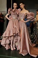 Ziad Nakad Haute Couture 2019<br /> Paris Fashion week Haute Couture 2019<br /> Paris, France in July 2019.<br /> CAP/GOL<br /> ©GOL/Capital Pictures