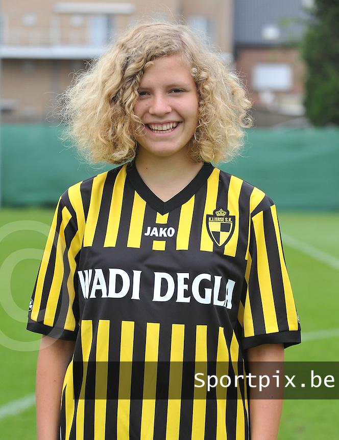 WD Lierse SK : Jella Lauwens.foto DAVID CATRY / Vrouwenteam.be