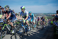 Michael Matthews (AUS/Orica-GreenEDGE) up the Gulpenerberg<br /> <br /> 50th Amstel Gold Race 2015