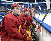 ?, Tommy Hill (FSU - 32) - The Ferris State University Bulldogs practiced on Wednesday, April 4, 2012, during the 2012 Frozen Four at the Tampa Bay Times Forum in Tampa, Florida.