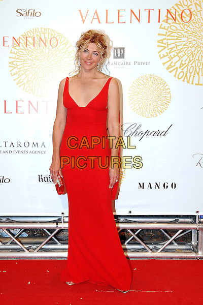 NATASHA RICHARDSON.Arrivals at the Valentino 45th Anniversary Celebraion Gala held at the Villa Borghese in the Parco dei Daini, Rome, Italy, 7th July 2007..full length red dress.CAP/OME.©Cesare Scaramuzzino/Omega/Capital Pictures.