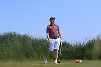 Geoff Lenehan (Portmarnock) on the 3rd tee during Round 2 of the East of Ireland Amateur Open Championship 2018 at Co. Louth Golf Club, Baltray, Co. Louth on Sunday 3rd June 2018.<br /> Picture:  Thos Caffrey / Golffile<br /> <br /> All photo usage must carry mandatory copyright credit (&copy; Golffile | Thos Caffrey)