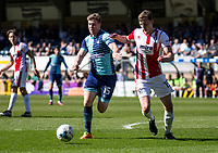 Dayle Southwell of Wycombe Wanderers during the Sky Bet League 2 match between Wycombe Wanderers and Cheltenham Town at Adams Park, High Wycombe, England on the 8th April 2017. Photo by Liam McAvoy.