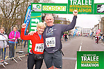 Mags Kenny 190, Humphrey Moynihan 248,who took part in the Kerry's Eye Tralee International Marathon on Sunday 16th March 2014